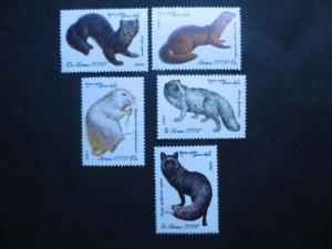 Russia #4838-42 Mint Never Hinged - I Combine Shipping!
