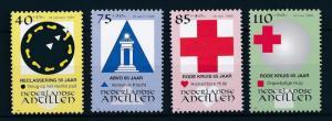 [NA1141] Netherlands Antilles Antillen 1997 Organisation Red Cross MNH # 1141-44