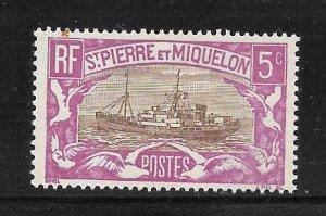 St. Pierre & Miquelon #139 MNH Single