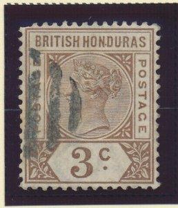 British Honduras Stamp Scott #40, Used