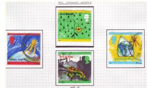 Great Britain Sc 1463-6 1992 Environment stamps used