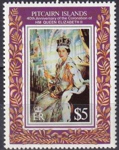 Pitcairn Islands  #383 MNH CV $7.00 (Z6158)