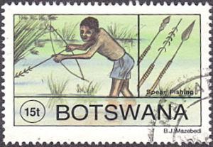 Botswana # 578 used ~ 15t Traditional Fishing