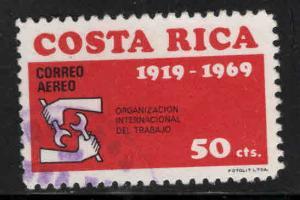 Costa Rica Scott C493 used Airmail stamp