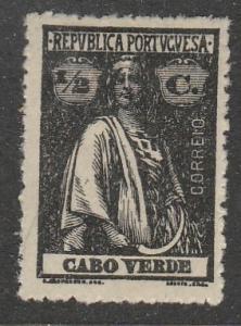 Cabo Verde  1914  Scott No. 145  (N*)