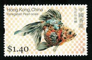 2005, Goldfish, Hong-Kong, China, MNH $1.40 (Т-9973)