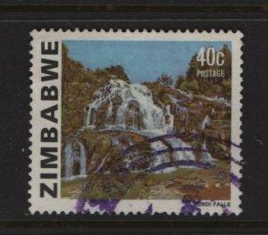 Zimbabwe 426A Used, 1980 Odzani Falls