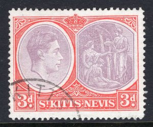 St Kitts Nevis 84 Used VF