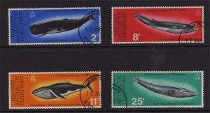 British Antarctic Territory 1977 Fish set FU