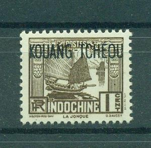 French Offices in China Kwangchowan sc# 104 (2) mh cat val $.35