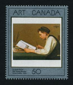 Canada 1203 MNH Art, Painting, The Young Reader