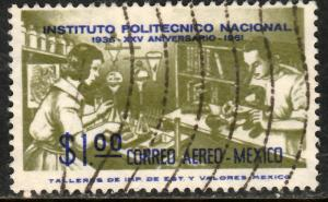 MEXICO C261 25th Anniversary Natl. Polytechnic Inst Used (697)