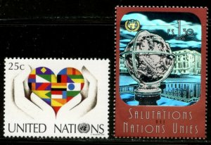 UNITED NATIONS Sc# NY 896 GE 451 2006 Added Definitives Complete MNH