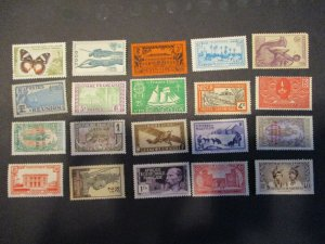 French Colonies / Area Assortment -  Hinged- (5D4) WDWPhilatelic #6