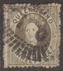 Queensland - Australia Scott #27 Stamp - Used Single