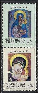 ARGENTINA 1637-38 MOG CHRISTMAS R10-124