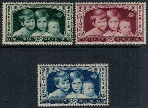 Belgium #B163-5* CV $7.00