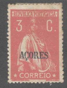 Azores Scott 182 Ceres  p15x14 MH*