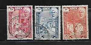 ADEN, 32-34, USED, 1955 ISSUE