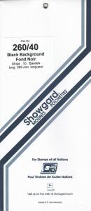 SHOWGARD BLACK MOUNTS 260/40 (10) RETAIL PRICE $10.50