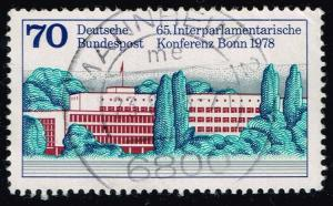 Germany #1277 Parliament Building; Used (0.40)