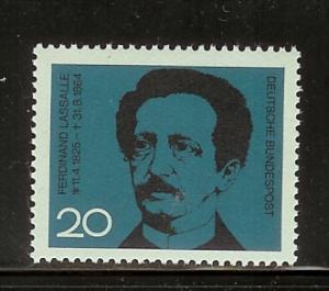 Germany 895 Set MNH Ferdinand Lasalle (C)