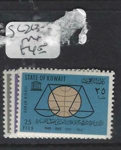 KUWAIT  (PP0205B)   SG 213-5   MNH