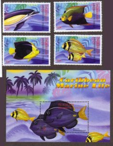 St. Vincent unlisted sheets – fish
