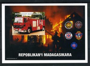 Fire Engines s/s Imperforated Mint (NH)