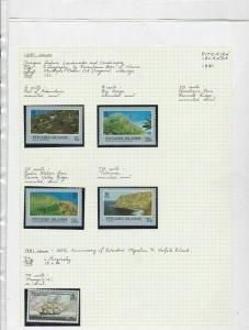 Pitcairn islands 1986 Stamps Ref 14576