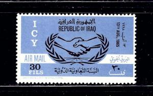 Iraq C11 MNH 1965 Intl Cooperation Year