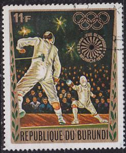 Burundi 401 XX Summer Olympic Games, Munich 1972