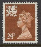 Great Britain Wales  SG W59 SC# WMMH45 Used  see details phosphorised paper
