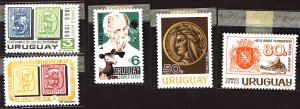 Uruguay #Mint Collection of Stamps, Mixed Condition