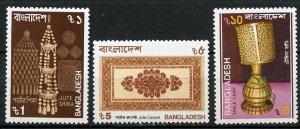 Bangladesh MNH 292-4 Artifacts