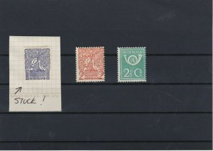Netherlands 1923 Mounted Mint Stamps As Shown Red: R4296