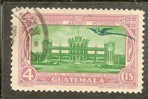 Guatemala  Scott C103  Drill Ground   Used