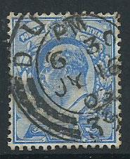 GB Edward VII SG 230 Fine Used Cancel JY 16 03
