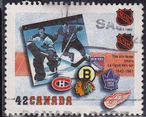 Canada 1444 USED 1992 NHL The Original Six 42