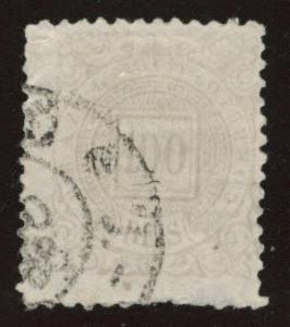 Brazil Scott 96 Used 1888 stamp