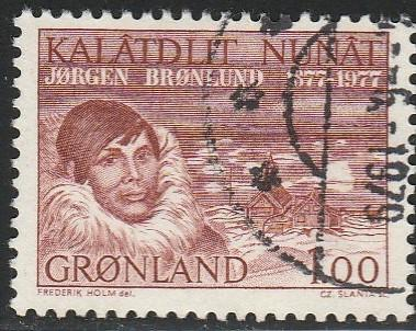 Greenland, #106 Used From 1977