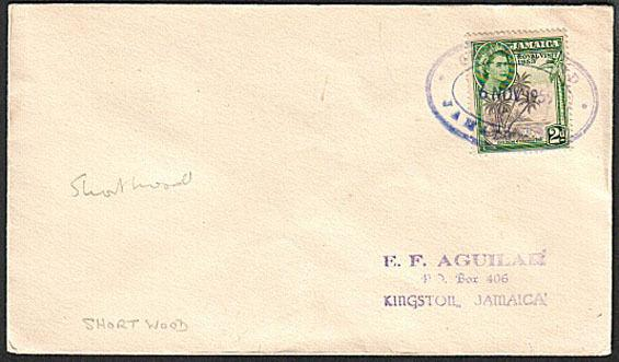 JAMAICA 1955 cover SHORTWOOD TRD