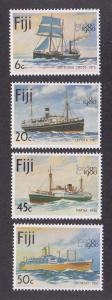 Fiji MNH 426-9 Ships 1980