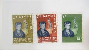 Ethiopia 425-427 MH