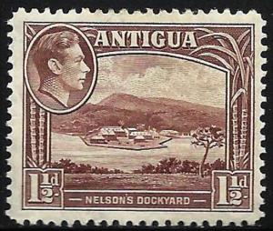 Antigua 1938-48 Scott # 86 Mint Hinged