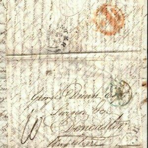 FRANCE Cover Paris GB Doncaster SURGEON MEDICAL Contents EL Letter 1843 EP81