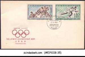 CZECHOSLOVAKIA - 1960 WINTER OLYMPIC GAMES - FDC