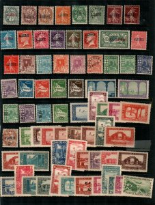 Algeria- small collection of earlier Mint NH stamps (some sets) - CV $170+