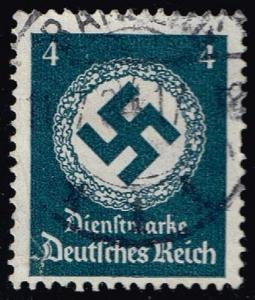 Germany #O81 Official - Swastika; Used (0.90)