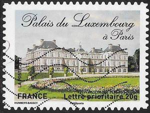France 4228 Used - ‭‭‭Historic Residences - ‭Palais du Luxembourg, Paris